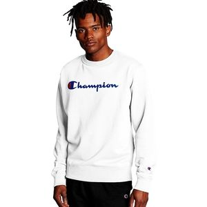 Champion NWT White Powerblend Sweatshirt